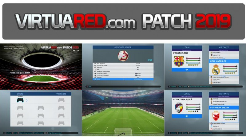 VirtuaRed com Patch 2019 For PES 2019 PC V1 0 – Pro