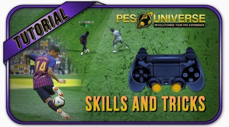 PES 2019 All Skills Tutorial [PS4] – Pro Evolution Soccer